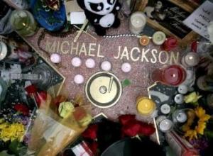 Esrella de la Fama de Michael Jackson