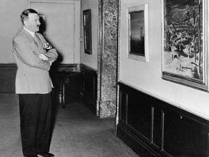 Se trata de tres cuadros creados por el líder Nazi entre 1910 y 1911 en Viena. La casa de subastas espera un valor de cinco cifras.