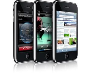 Es el último modelo del teléfono de Apple. El sistema es más rápido y trae una cámara de 3MP que graba y edita videos. Lo venderán las operadoras Movistar y Claro, en las versiones de 16 y 32GB.
