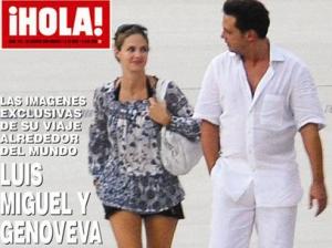 La relación de Luis Miguel y Genoveva Casanova es otra vez noticia. Nuevas fotos de ambos paseando por Europa fueron publicadas por la revista HOLA!.
