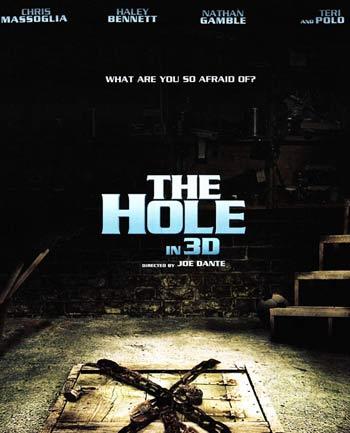 The hole, que marca el regresa del director de Gremlins, ganó el premio al filme 3D que se entregó por primera vez.