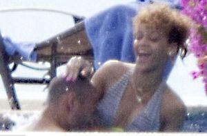El diario Daily Mail publicó varias fotografías de la estrella de Umbrella junto a su nueva conquista, Matt Kemp.
